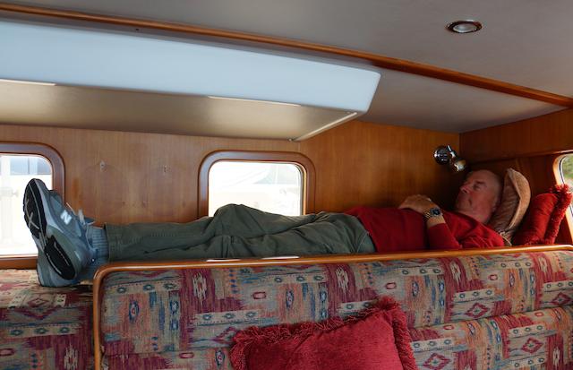 The Captain Sleeps